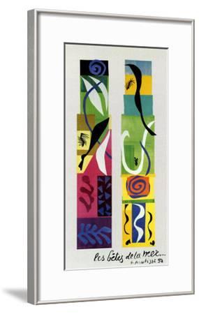 Beasts of the Sea-Henri Matisse-Framed Art Print