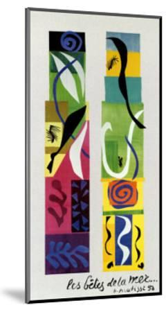 Beasts of the Sea-Henri Matisse-Mounted Art Print