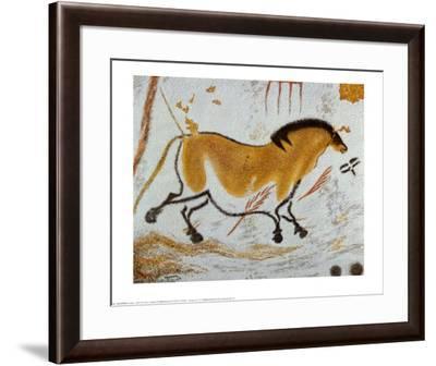 Yellow Horse--Framed Art Print
