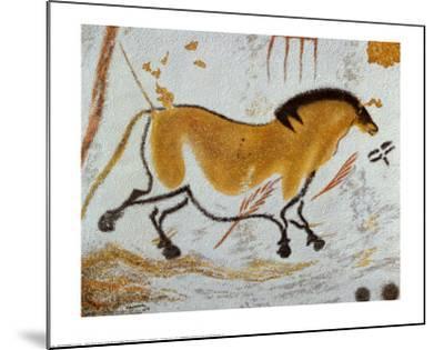 Yellow Horse--Mounted Art Print