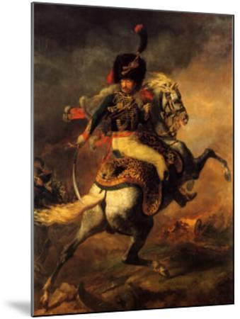 Officer of the Imperial Guard-Th?odore G?ricault-Mounted Art Print