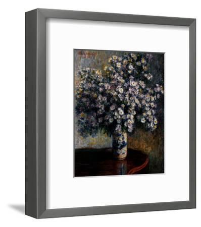 Asters, 1880-Claude Monet-Framed Art Print