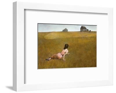 Christina's World, 1948-Andrew Wyeth-Framed Art Print