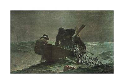 The Herring Net, 1885-Winslow Homer-Art Print