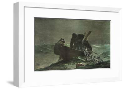 The Herring Net, 1885-Winslow Homer-Framed Art Print