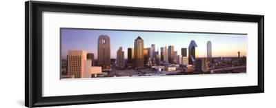 Dallas, Texas-James Blakeway-Framed Art Print