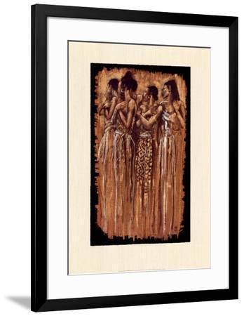 Sisters in Spirit-Monica Stewart-Framed Art Print