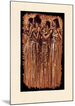 Sisters in Spirit-Monica Stewart-Mounted Art Print