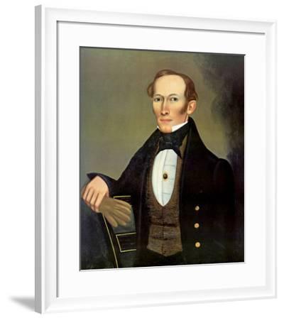 Mr. Pearce, c.1835-Erastus Salisbury Field-Framed Art Print
