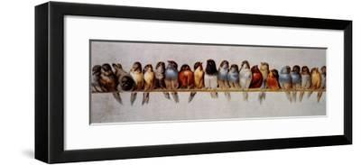 The Bird Perch-Hector Giacomelli-Framed Art Print