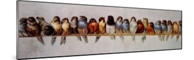 The Bird Perch-Hector Giacomelli-Mounted Art Print