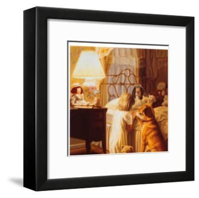 Bedtime Prayers-Ron Bayens-Framed Art Print