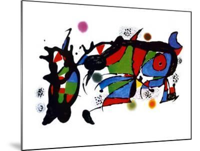 Obra de Joan Miro-Joan Mir?-Mounted Art Print