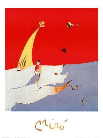 Paysage, c.1925-Joan Mir?-Art Print