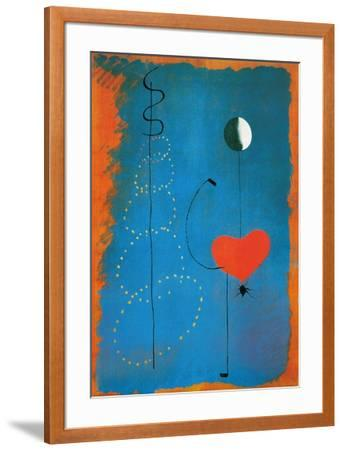 Ballerina-Joan Mir?-Framed Art Print