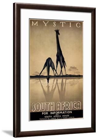 Mystic South Africa-Gayle Ullman-Framed Art Print