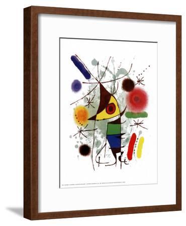 Le Chanteur-Joan Mir?-Framed Art Print