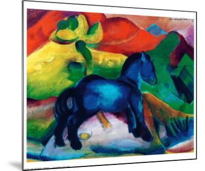 Blue Ponny-Franz Marc-Mounted Art Print