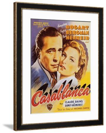 Casablanca--Framed Art Print