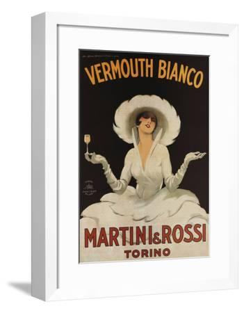 Martini Rossi Vermouth Bianco--Framed Art Print