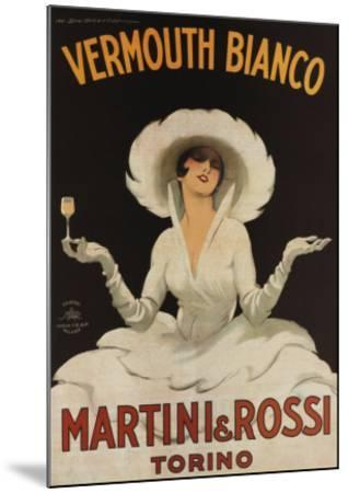 Martini Rossi Vermouth Bianco--Mounted Art Print