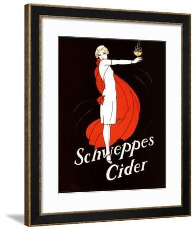Schweppes Cider--Framed Art Print