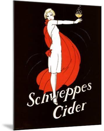 Schweppes Cider--Mounted Art Print