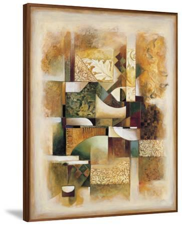 Abstract Collage I-Jonathan Parsons-Framed Art Print