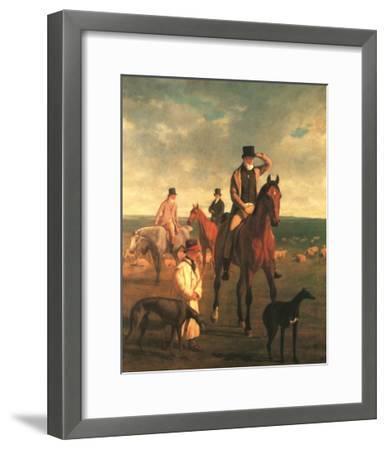 Lord Rivers-Jacques-Laurent Agasse-Framed Art Print