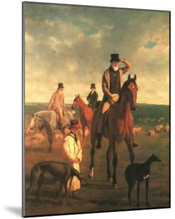Lord Rivers-Jacques-Laurent Agasse-Mounted Art Print