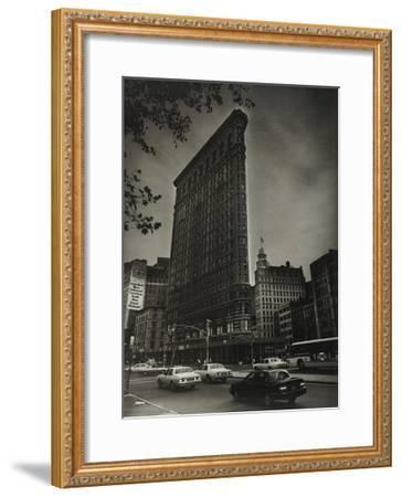 Flatiron Building At Broadway-Ralph Uicker-Framed Art Print