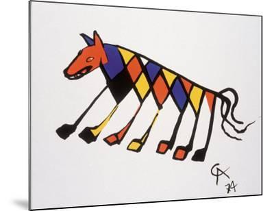 Beastie-Alexander Calder-Mounted Art Print