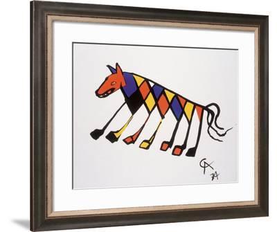 Beastie-Alexander Calder-Framed Art Print