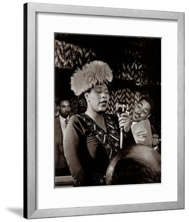 Ella Fitzgerald-William P^ Gottlieb-Framed Art Print