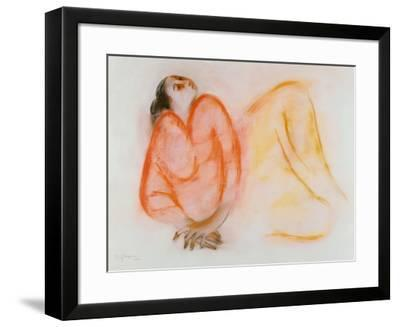 Reclining Woman-R^ C^ Gorman-Framed Art Print