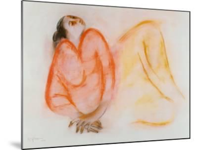 Reclining Woman-R^ C^ Gorman-Mounted Art Print