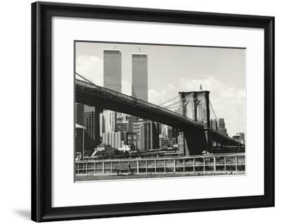 Brooklyn Bridge-Ralph Uicker-Framed Art Print
