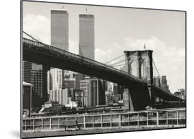 Brooklyn Bridge-Ralph Uicker-Mounted Art Print