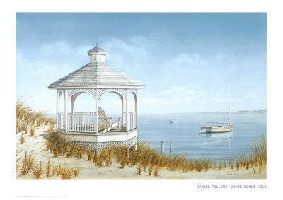 White Goose Cove-Daniel Pollera-Art Print