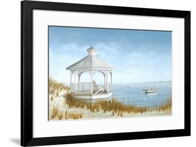 White Goose Cove-Daniel Pollera-Framed Art Print