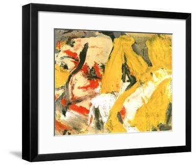 In the Sky-Willem de Kooning-Framed Art Print