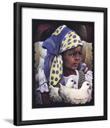 Gleam of Hope-Lyonel Laurenceau-Framed Art Print