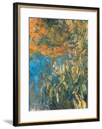 Iris, 1914-1917-Claude Monet-Framed Art Print