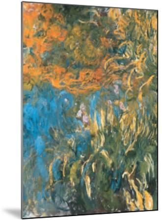 Iris, 1914-1917-Claude Monet-Mounted Art Print