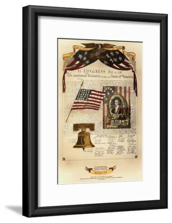 Let Freedom Ring II-Kayla Boekman-Framed Giclee Print