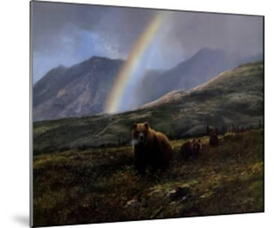 Over the Pass-Michael Coleman-Mounted Art Print