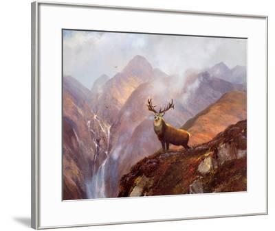 The Highlands-Michael Coleman-Framed Art Print