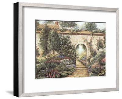 The Garden Gate-Barbara R^ Felisky-Framed Art Print