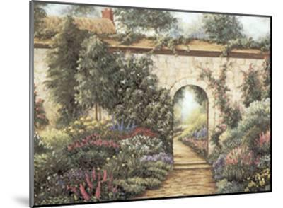 The Garden Gate-Barbara R^ Felisky-Mounted Art Print