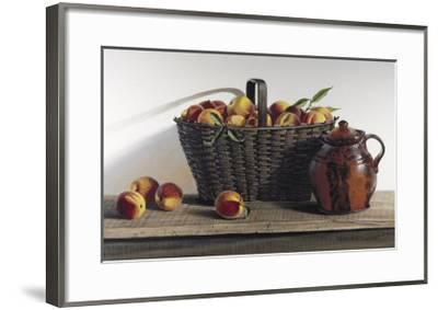 Peaches and Cream-Pauline Ebl? Campanelli-Framed Art Print